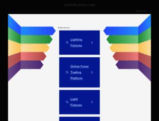 wallofcoins.com screenshot