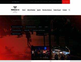 wallonia-export.be screenshot