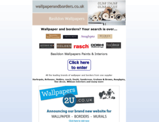 wallpaperandborders.co.uk screenshot