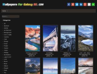 wallpapersforgalaxys6.com screenshot
