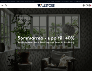 wallstore.se screenshot