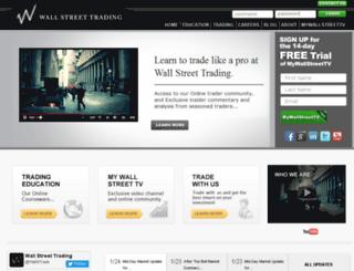 wallstreettrading.com screenshot