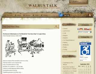 walrustalk.com screenshot