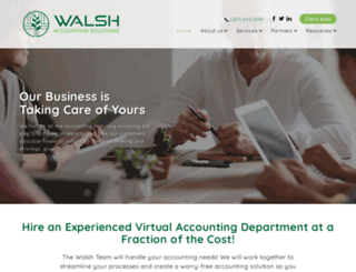 walsh-accounting.bizinkonline.com screenshot