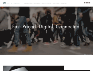 walt.com screenshot