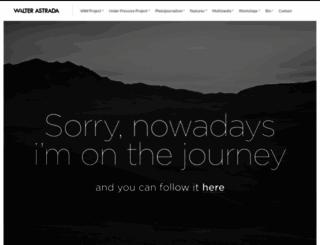 walterastrada.com screenshot