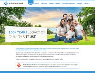walterbushnell.com screenshot