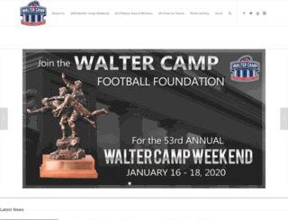 waltercamp.org screenshot