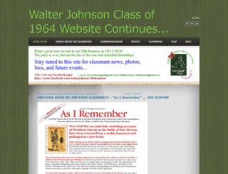 walterjohnson1964reunion.weebly.com screenshot
