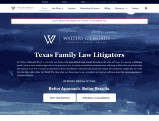 waltersgilbreath.com screenshot