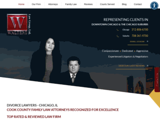 walterslawgroup.com screenshot