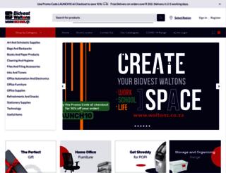 waltons.co.za screenshot