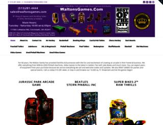 waltonsgames.com screenshot
