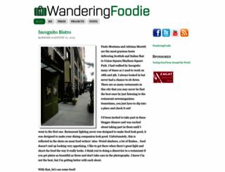 wanderingfoodie.com screenshot