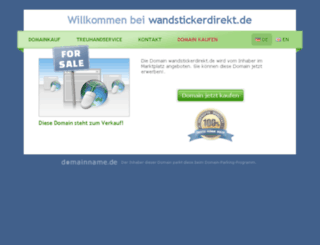 wandstickerdirekt.de screenshot
