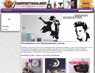 wandtattoofinder.wandtattoos.net screenshot