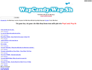 wapcandy.wap.sh screenshot