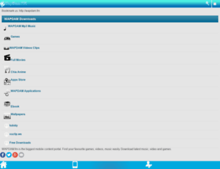 wapdam.fm screenshot