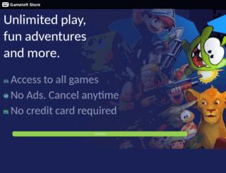 wapshop.gameloft.com screenshot