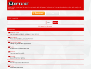 wapti.net screenshot