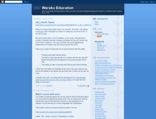 waraku.blogspot.nl screenshot