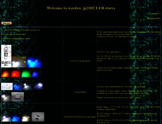 wardenjp.com screenshot