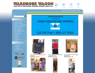wardrobewagon.com screenshot