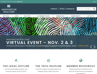 warealtor.org screenshot