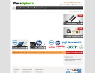waresphere.com screenshot