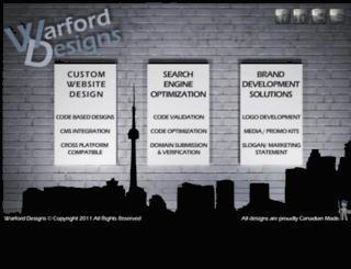 warford-designs.com screenshot