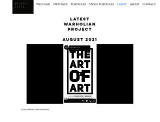 warholian.com screenshot