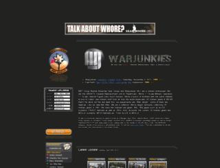 warjunkies.net screenshot