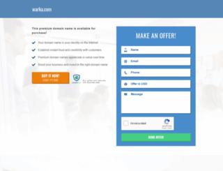 warka.com screenshot