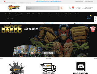 warlordgames.co.uk screenshot