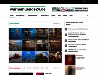 warnemuende24.de screenshot