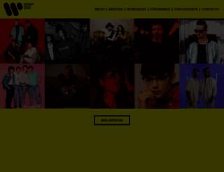 warnermusic.es screenshot