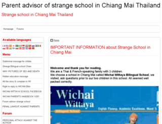 warning-school-in-chiang-mai-thailand.doomby.com screenshot