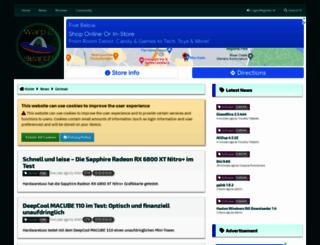 warp2search.at screenshot