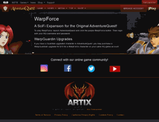 warpforce.com screenshot