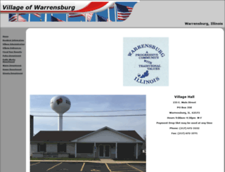 warrensburgillinois.info screenshot