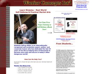 warrior-concepts-online.com screenshot