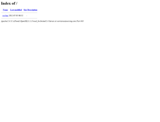 warrioroutsourcing.com screenshot