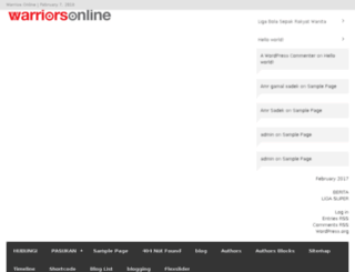 warriors.com.my screenshot