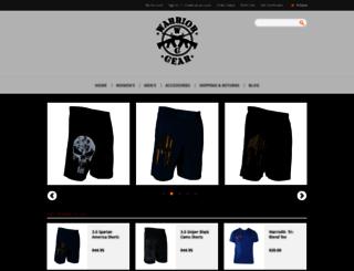 warriorxgear.com screenshot