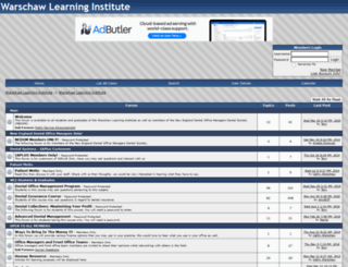 warschawlearninginstitute.activeboard.com screenshot