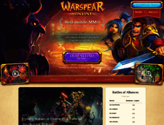 warspear-online.com screenshot