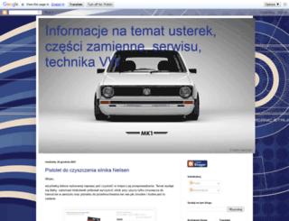 warsztatvw.blogspot.com screenshot