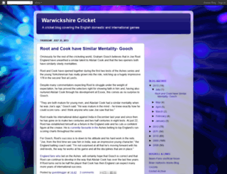 warwickshireccc.blogspot.com screenshot