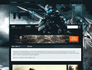 warzoneskin.forumotion.com screenshot