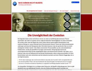 was-darwin-nicht-wusste.de screenshot